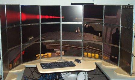 Quake 3 en 24 pantallas