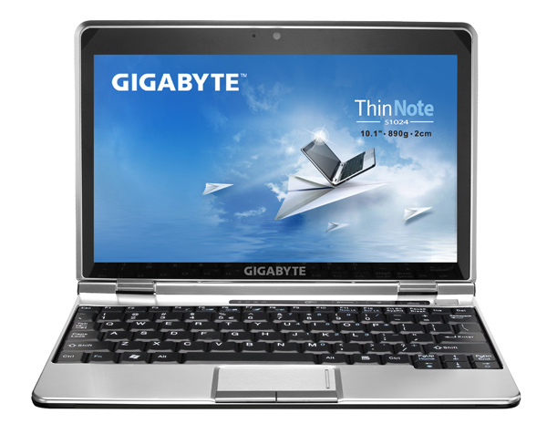 Gigabyte S1024 ThinNote