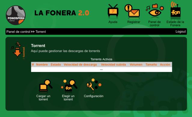 Torrents en la Fonera 2.0