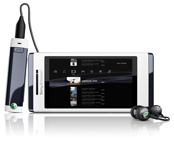 aino Sony Ericsson Aino: slider, touchscreen y cámara de 8.1 mpx