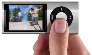 iPod nano camara