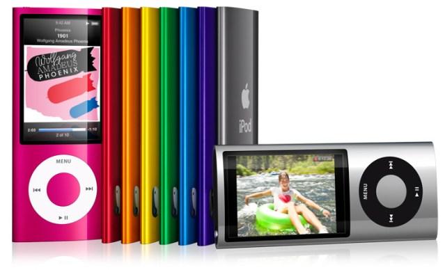 iPod nano familia