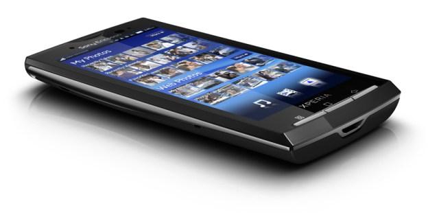 Sony Ericsson X10 tumbado