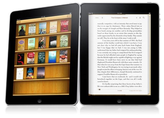 iPad con iBooks