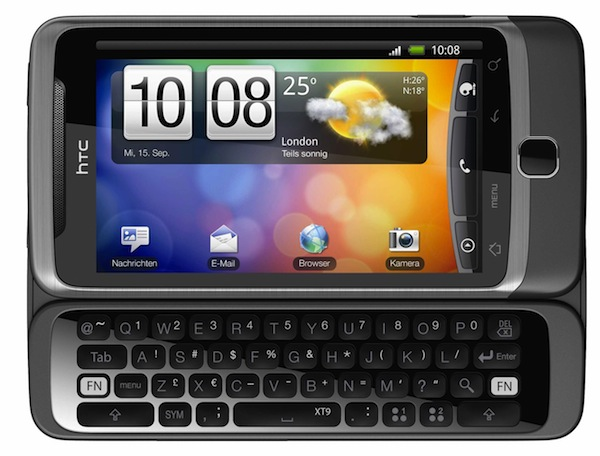 HTC Desire Z 610x463 HTC Desire Z con Android 2.2 y QWERTY