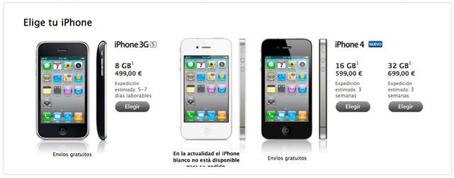 iPhone 4 libre en España