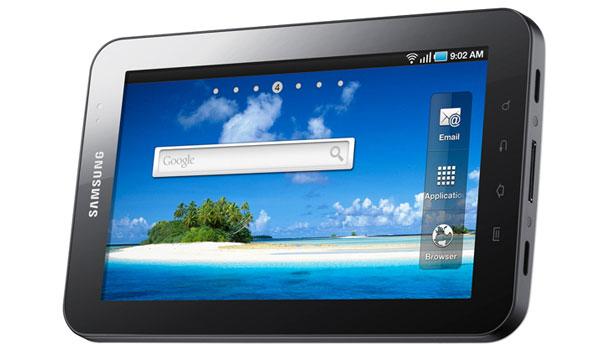 samsung galaxy tab1 Google: Las Android apps funcionarán bien en tablets