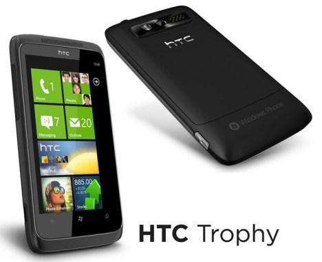 htc 7 trophy 468x380 HTC 7 Trophy, con Windows Phone 7