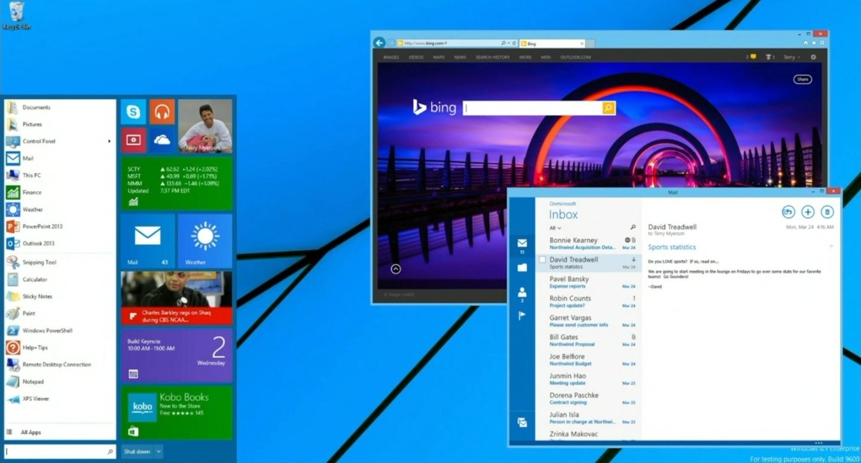 Windows 8.1, el botón de Inicio vuelve, Microsoft da un paso atras