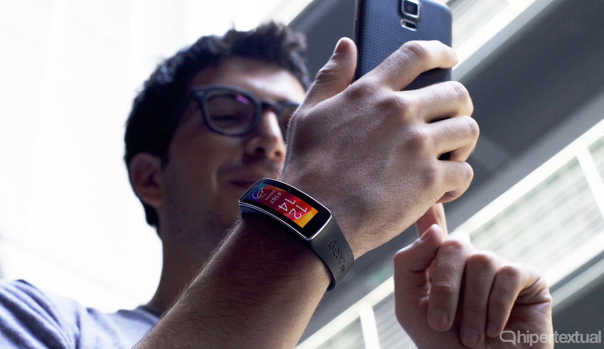 Samsung Gear Fit Jose