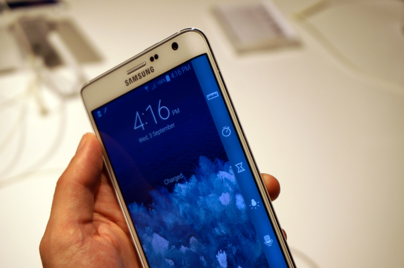 Llega Samsung Galaxy Note Edge, el hermano curvo del Galaxy Note 4