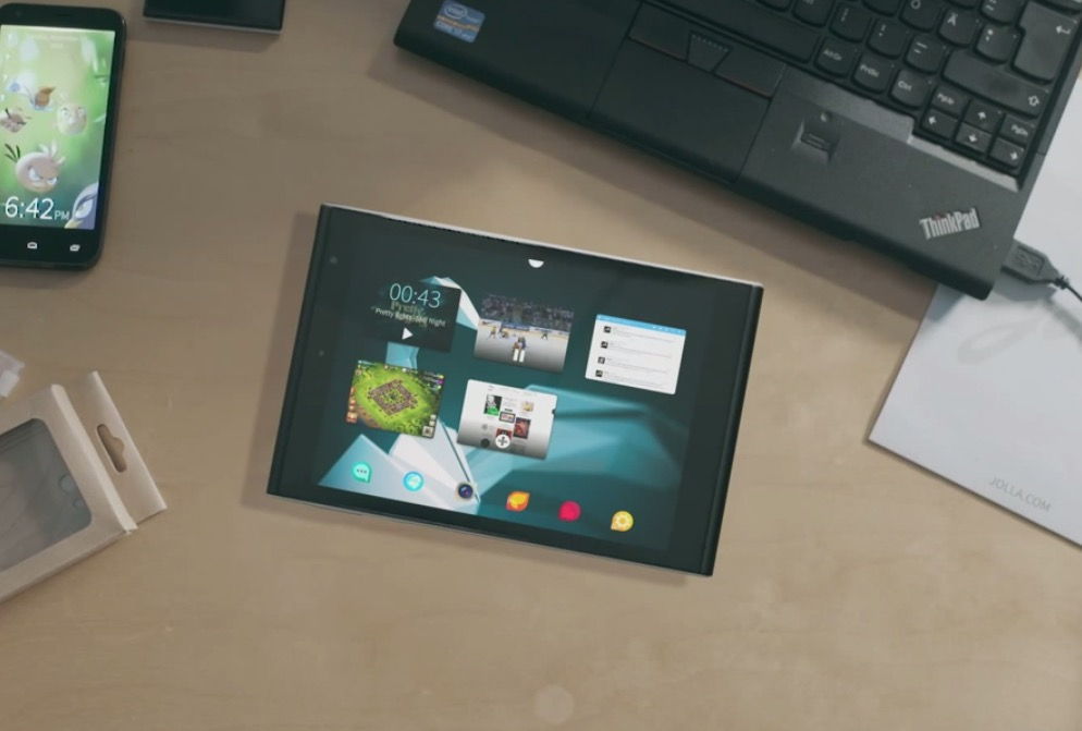Jolla Tablet oficial, el nuevo tablet con Sailfish OS financiado con crowdsourcing