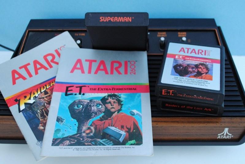 Atari 2600 con ET - leyendas urbanas tecnológicas