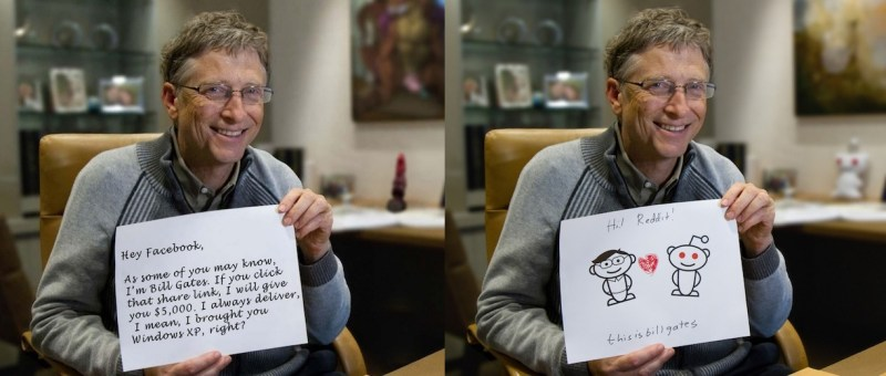 Bill Gates Reddit - leyendas urbanas tecnológicas