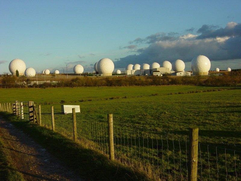 Menwith Hills - Estaciones de Radar