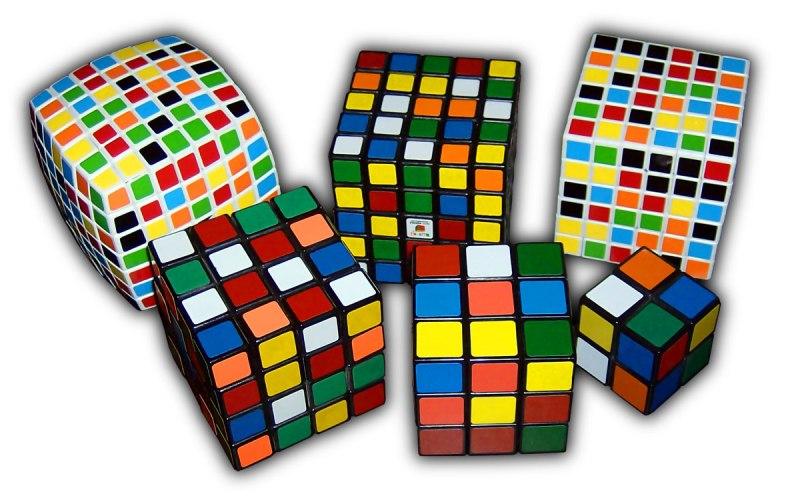 Cubo de Rubik - variaciones