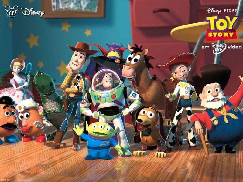 Toy Story - personajes - Historia de Debian