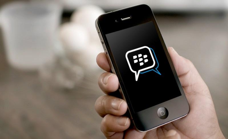 BBM para iOS ya fue enviada a Apple