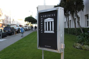 The Internet Archive has moved into the former Christian Scientist building in my neighborhood. Yay!