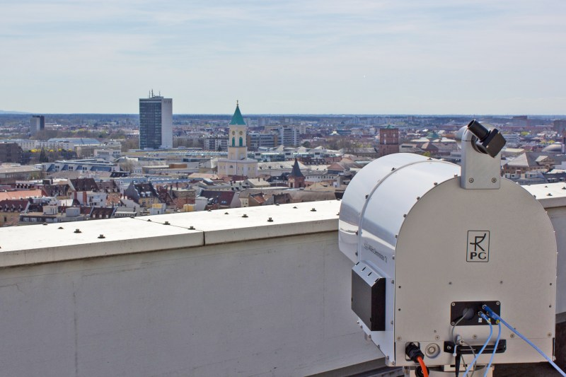 Mililink - prueba en exteriores - Wi-Fi a 100 Gbps