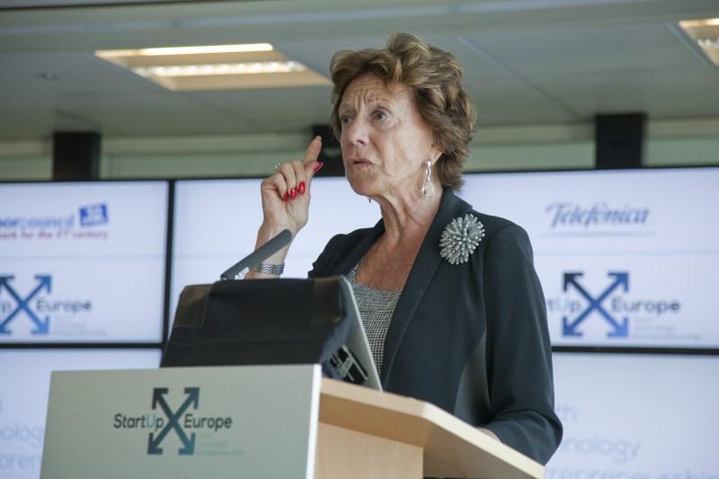 Neelie Kroes - Startup Manifesto - Startup Europe Forum