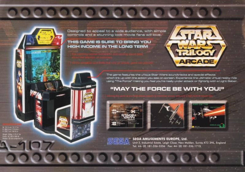 Star Wars Trilogy Arcade (1998) - Arcades de leyenda