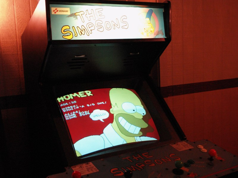 The Simpsons Arcade - Arcades de Leyenda