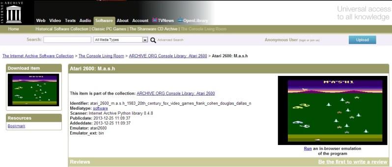 Internet Archive juegos
