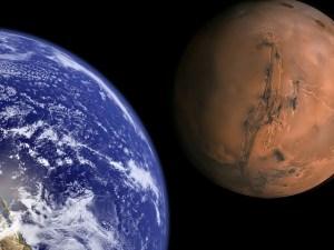 agua l�quida en Marte