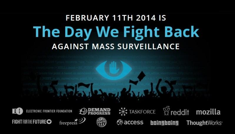 Protestas contra espionaje masivo en Internet