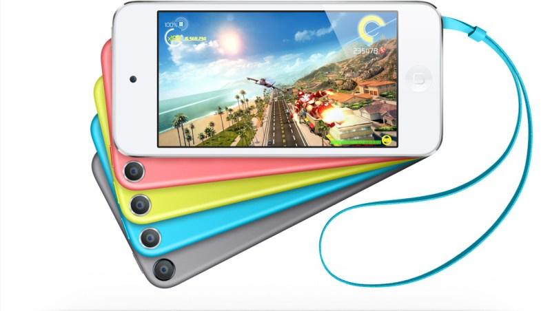 ipod para videojuegos