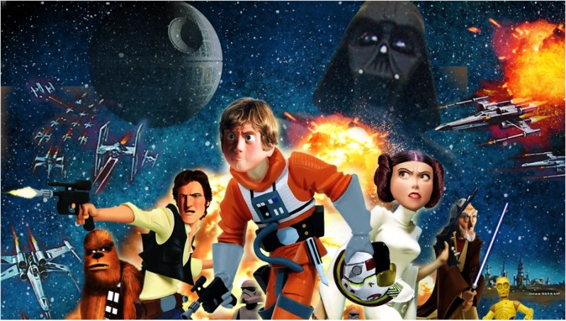 star wars pixar