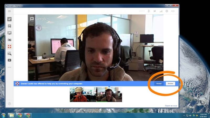 Acceso remoto con los hangouts (2)