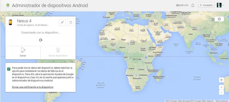 android device manager - Seguridad en dispositivos móviles