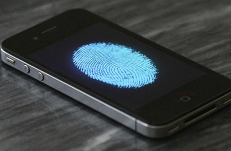 Reconocimiento dactilar en iPhone