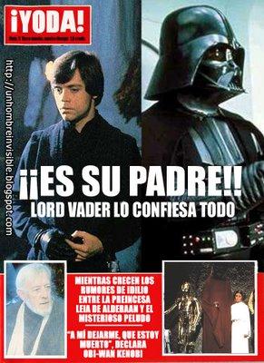 La Guerra de las Galaxias! Yoda-vader