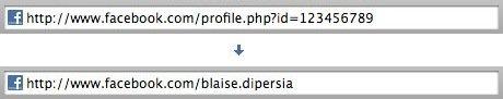 El cambio de number ID a Vanity URL