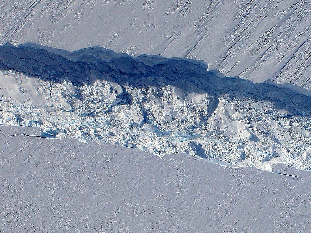 Grieta Iceberg Antartida