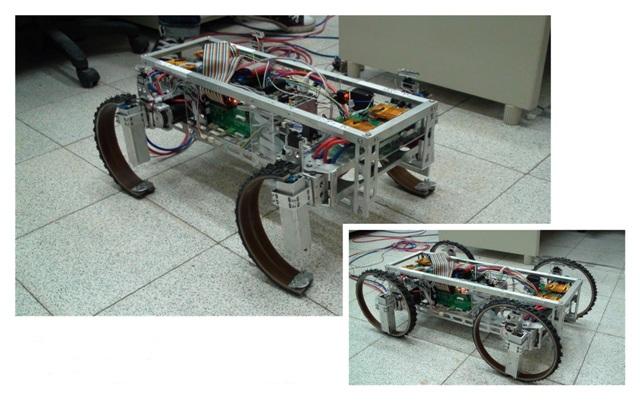 Robot ruedas y piernas