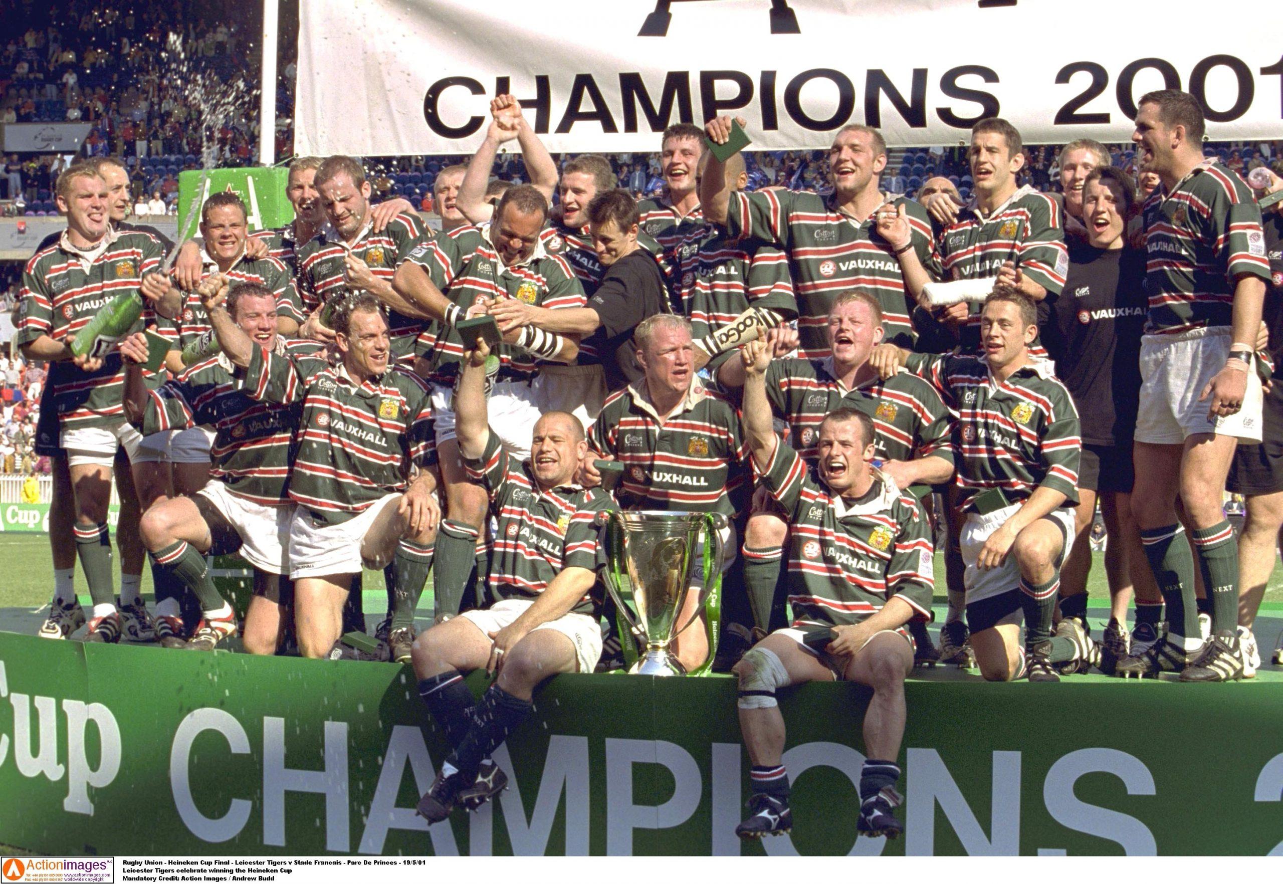 Rugby Union - Heineken Cup Final - Leicester Tigers v Stade Francais - Parc De Princes - 19/5/01