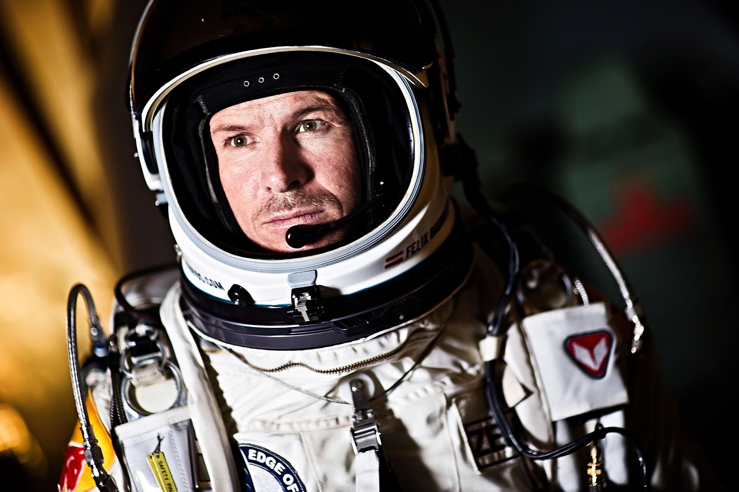 Felix Baumgartner - Red Bull Stratos