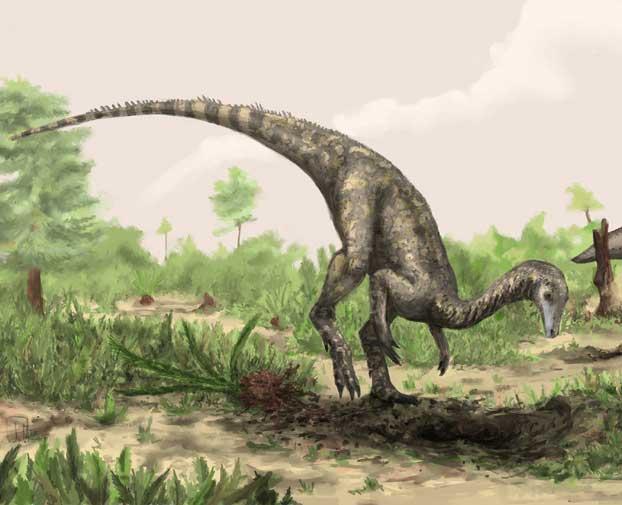 Reconstrucción del Nyasasaurus parringtoni