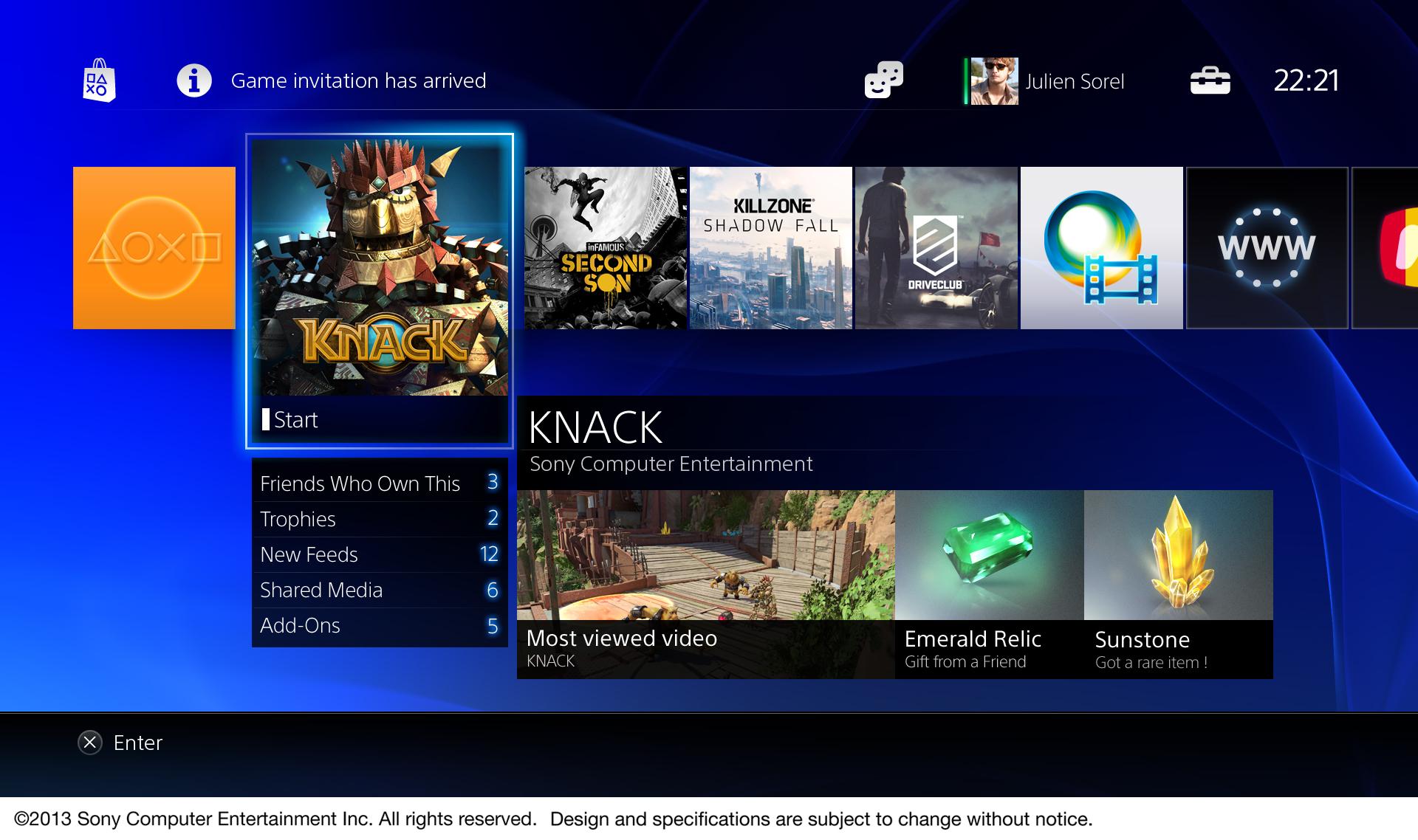 PlayStation 4 - Interfaz Usuario (9)