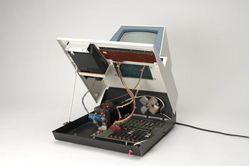 Commodore PET Interior