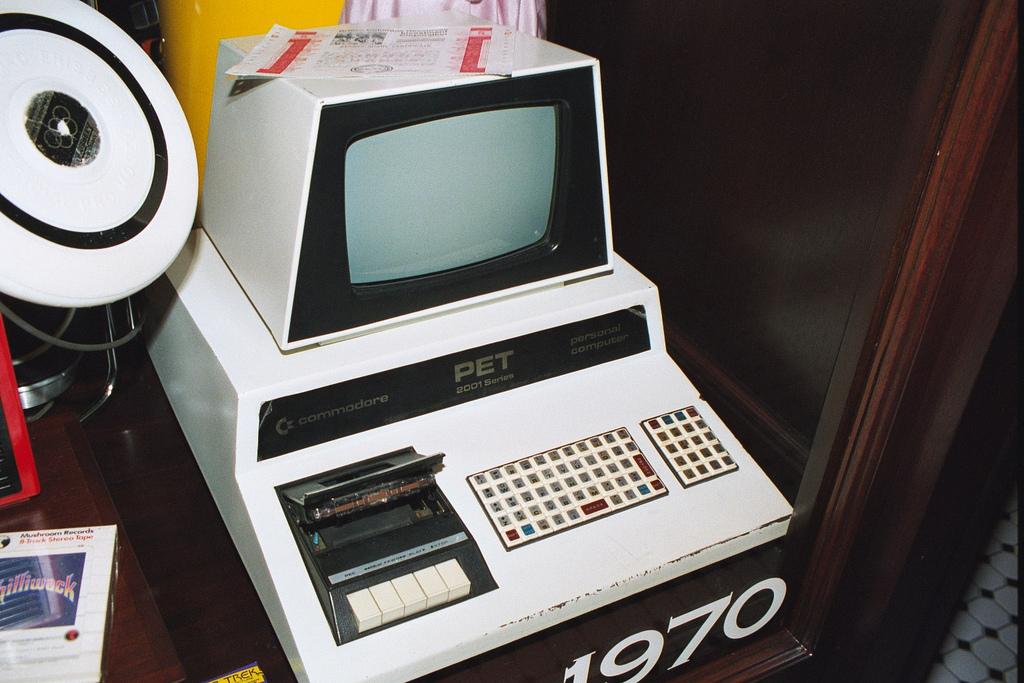 Commodore PET en el National Geographic Museum