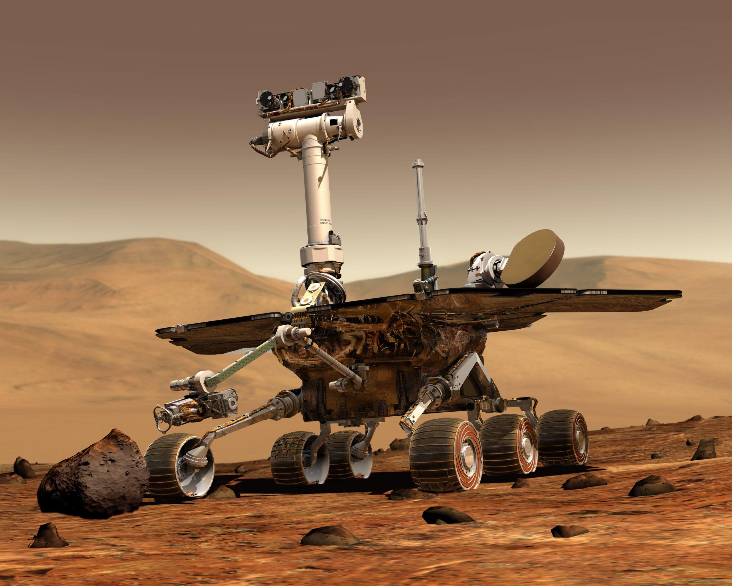 NASA_Mars_Rover Opportunity
