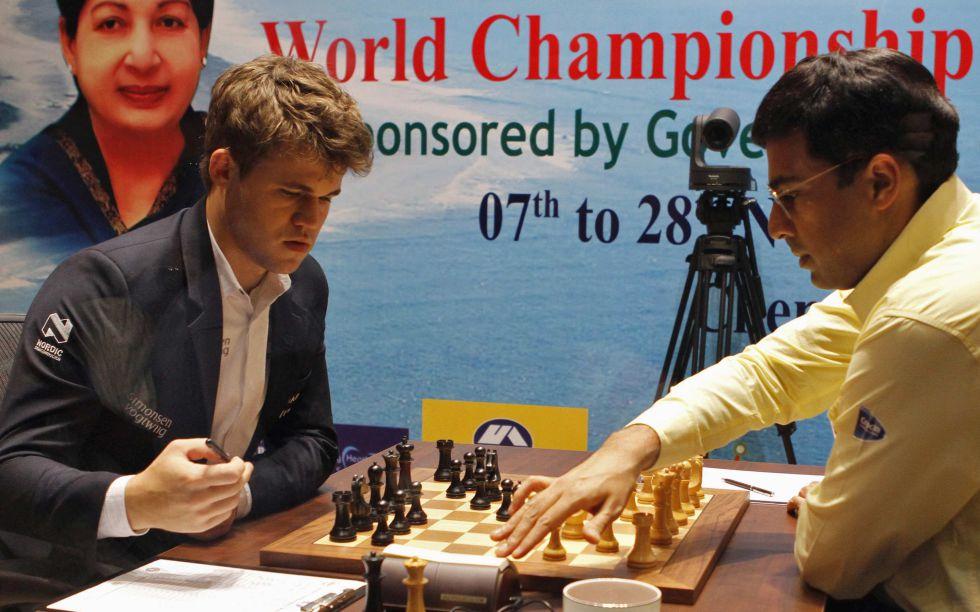 Magnus Carlsen vs Anand