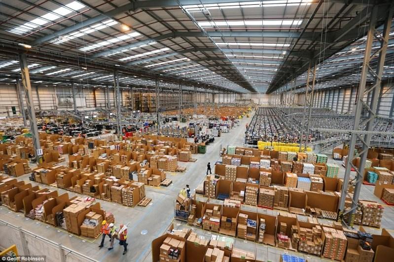 huelga de los trabajadores de Amazon