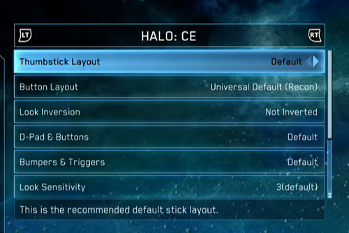Halo: The Master Chief Collection Sistema de Control
