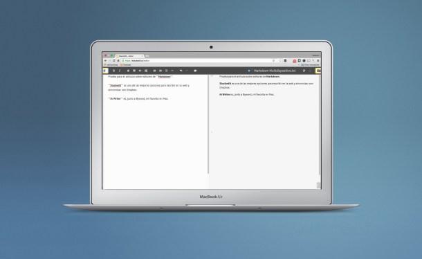 Mac markdown web